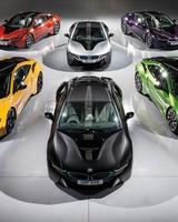 BMW i8 Individual Paint Program