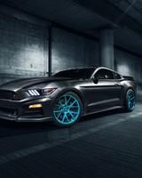 ROUSH Performance Mustang Vossen Wheels