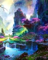 Amazing Springtime Landscape Artwork