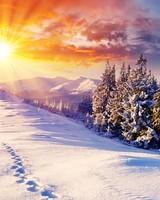 Mountain Landscape, Winter