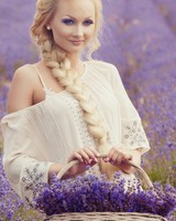 Lavender Field wallpaper 1