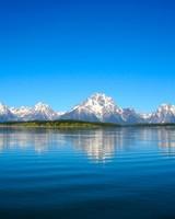 Grand Teton Mountain Lake Reflections
