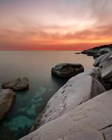 Coastal White Rocks