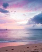 Twilight Island Beach Sunset