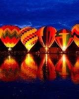 Balluminaria Hot Air Balloon Glow Festival