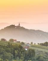 Summer morning in Pregrada