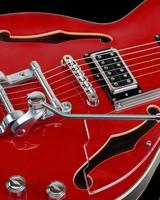 Duesenberg red guitar