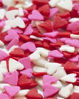 Red White Pink Hearts