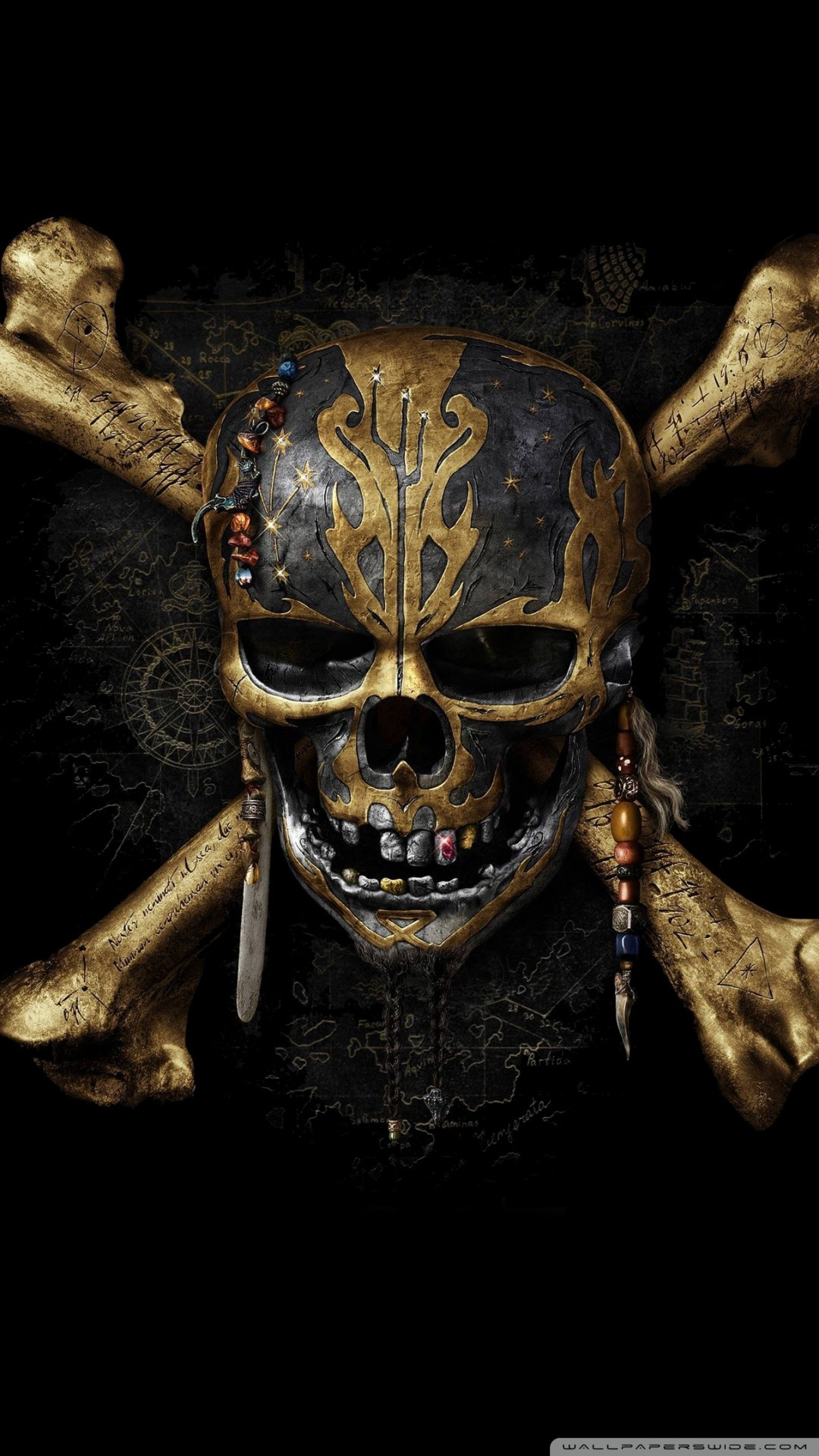 Free Pirates of the Caribbean Dead Men Tell No Tales phone wallpaper by sediqa
