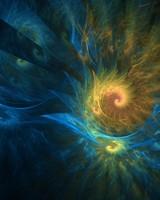 Fibonacci Spiral Fractals