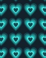 Glowing Hearts