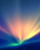 Light Blue Rays