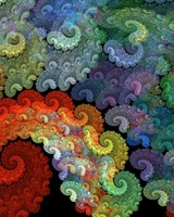 Colorful Spiral Abstraction