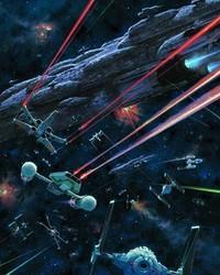 Rebel Fleet vs Imperial Fleet