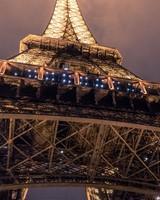 Eiffel Tower Bottom View