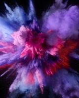 Purple Color Burst