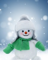 Cute Christmas Snowman wallpaper 1