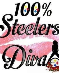 100% Steelers Diva