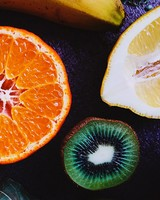 Lemon, Orange, Kiwi, Banana, Apple