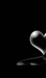 silver lined heart