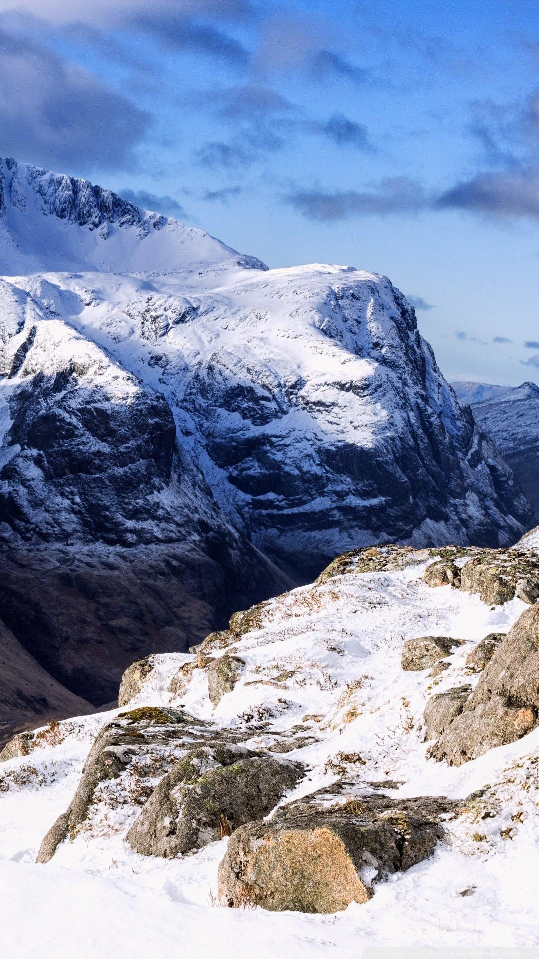 Free The Three Sisters, Scotland phone wallpaper by jham1