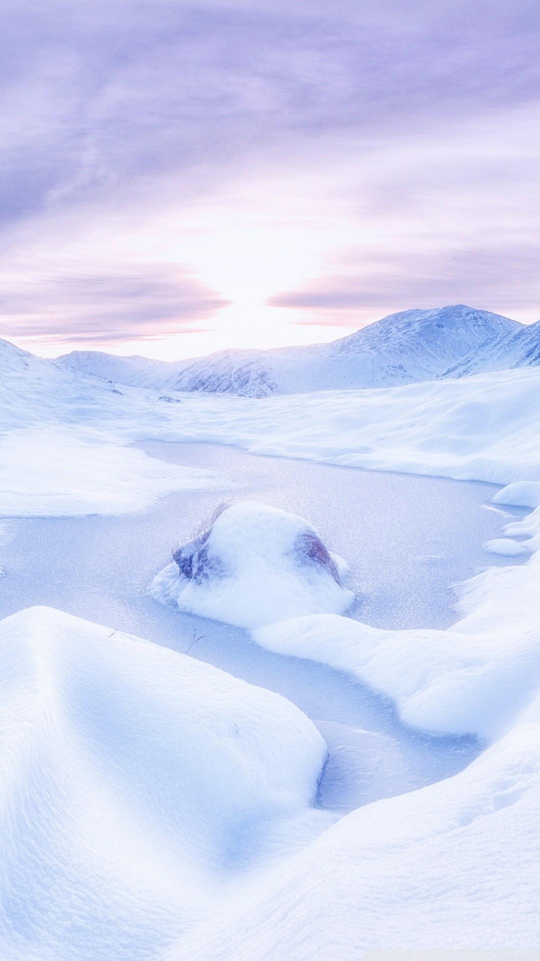 Free Scottish Highlands Winter phone wallpaper by angelbaby2011