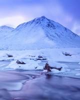 Scotland Highlands Winter Landscape