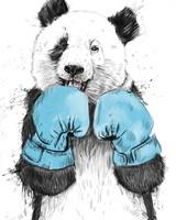 Minimalist Panda