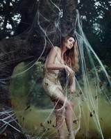 Girl Spider Web