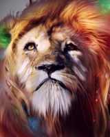 Lion CGI Artwork