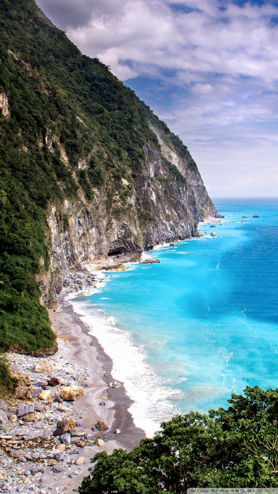 Free Scenic Area, Qingshui Cliff, Taiwan phone wallpaper by angelpiered1234