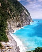 Scenic Area, Qingshui Cliff, Taiwan