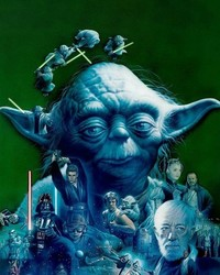 Yoda+STAR WARS SAGA-Tsuneo Sanda