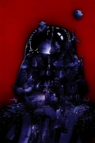 Free Darth Vader-STAR WARS SAGA-Tsuneo Sanda phone wallpaper by epictones