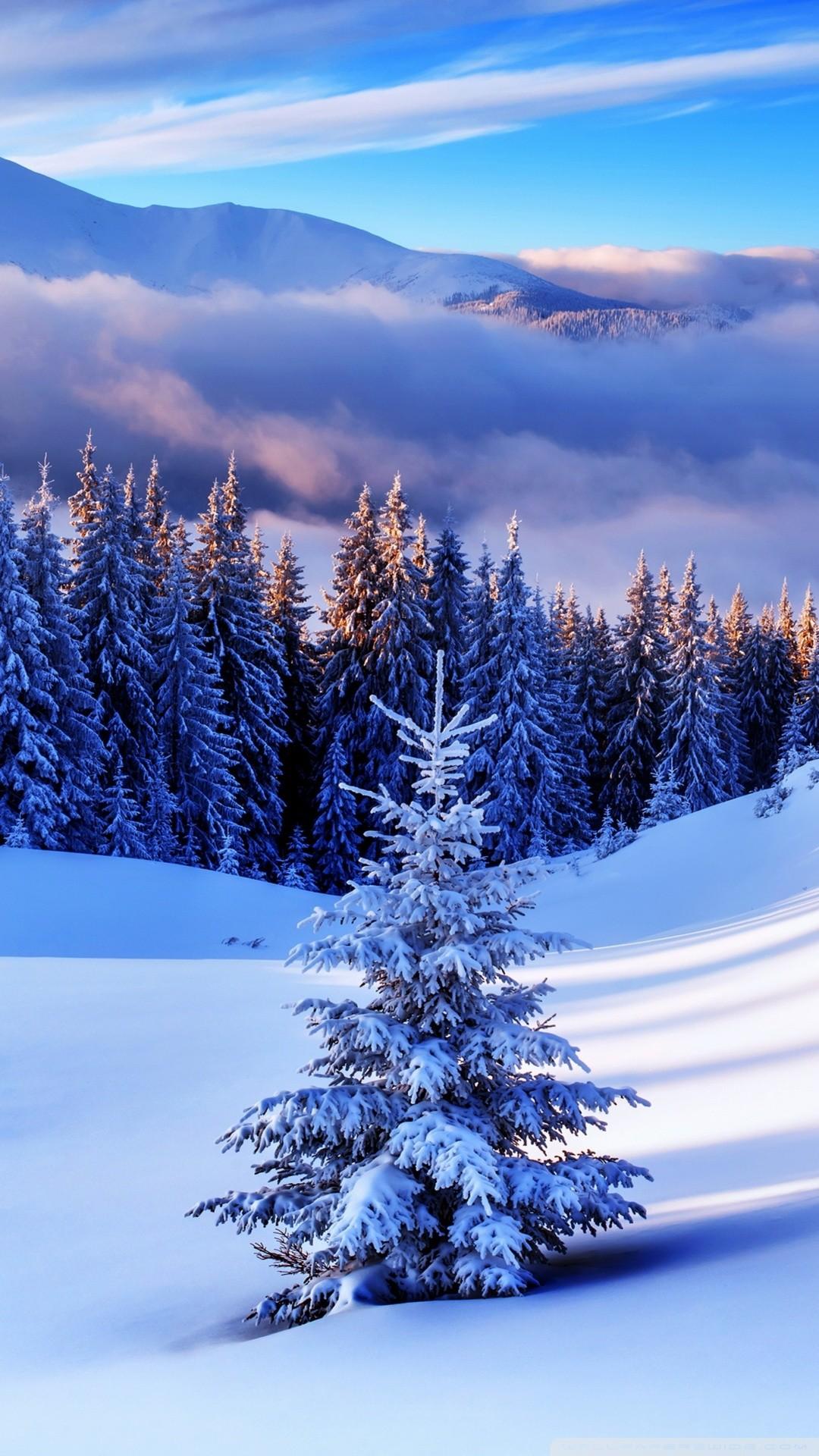 Free Winter Season, Mountains phone wallpaper by gerald12
