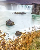 Iceland, Godafoss Waterfall