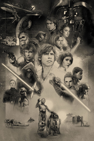 Free SWCO2017-40th Anniversary phone wallpaper by epictones