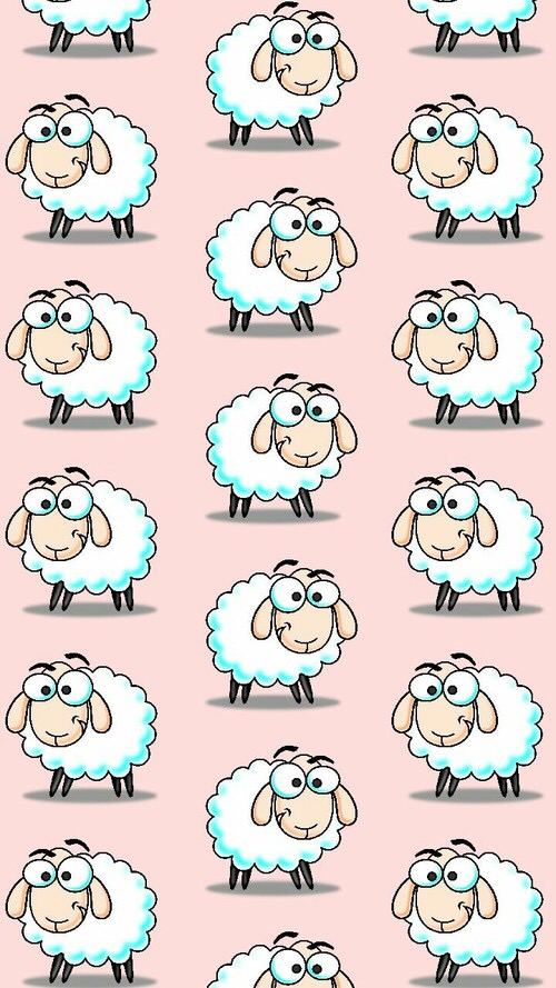 Free Wheres the Sheep phone wallpaper by kitty_baby12