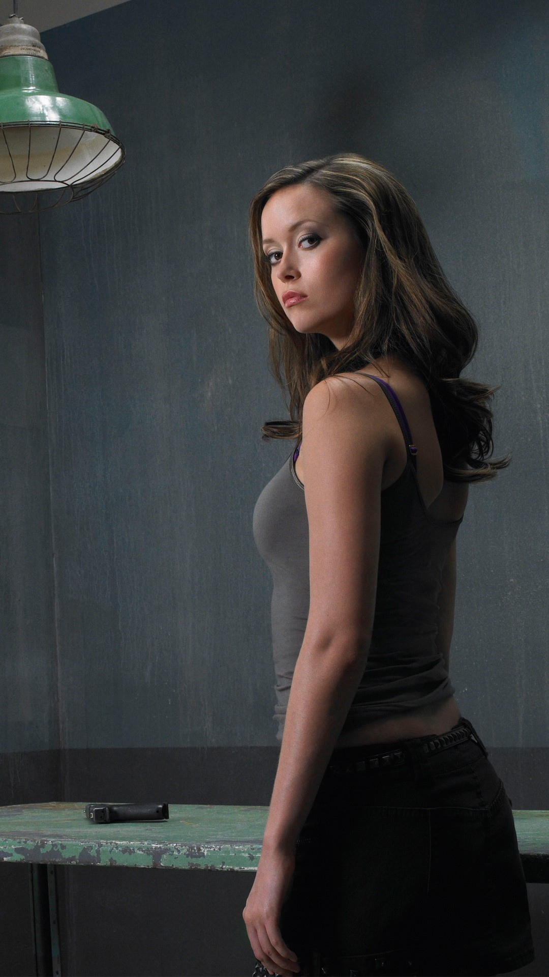 Free Terminator The Sarah Connor Chronicles Summer Glau phone wallpaper by tammy3