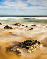 Rocks, Sand Beach