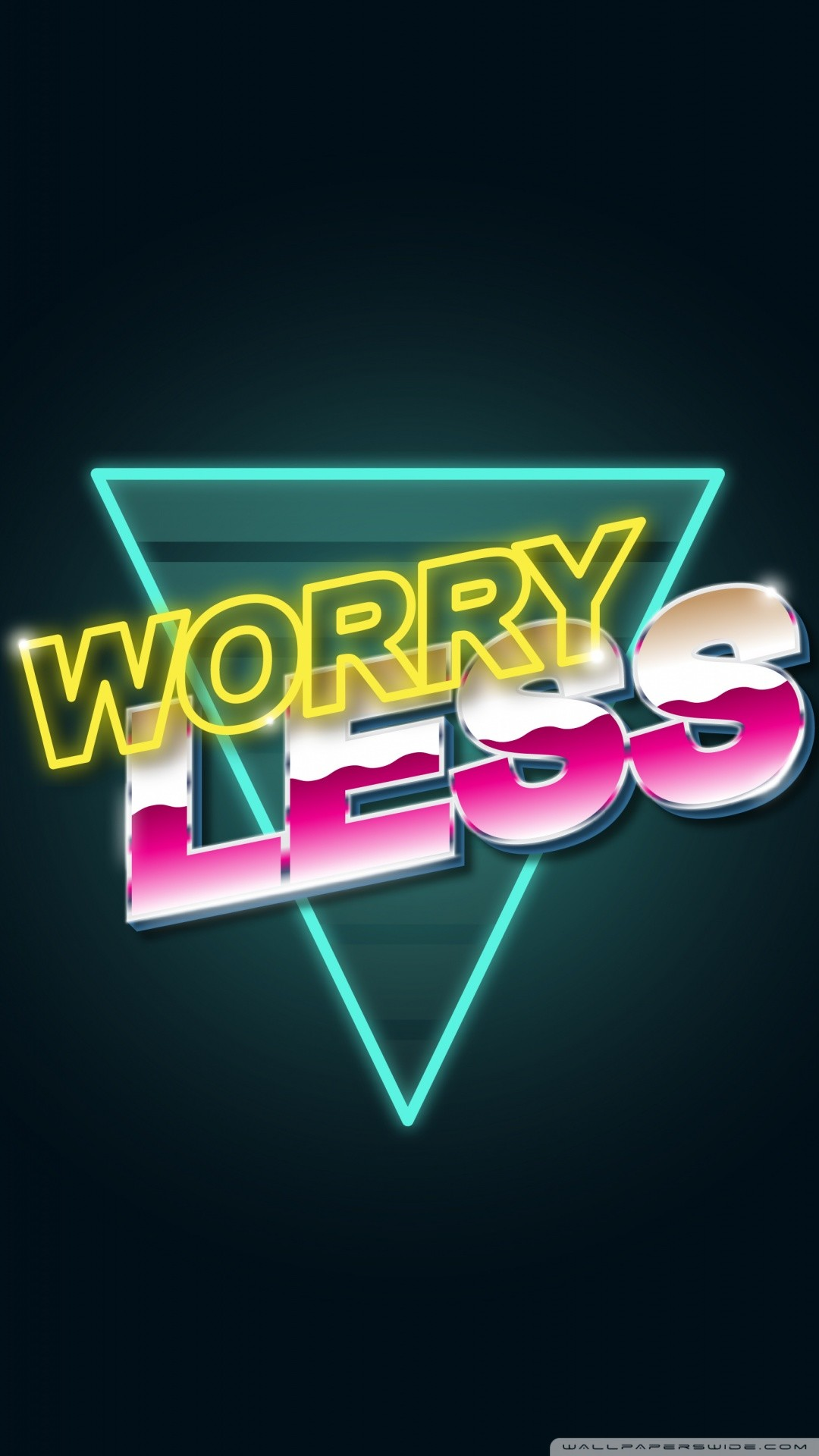 Free Worry Less phone wallpaper by kandice89