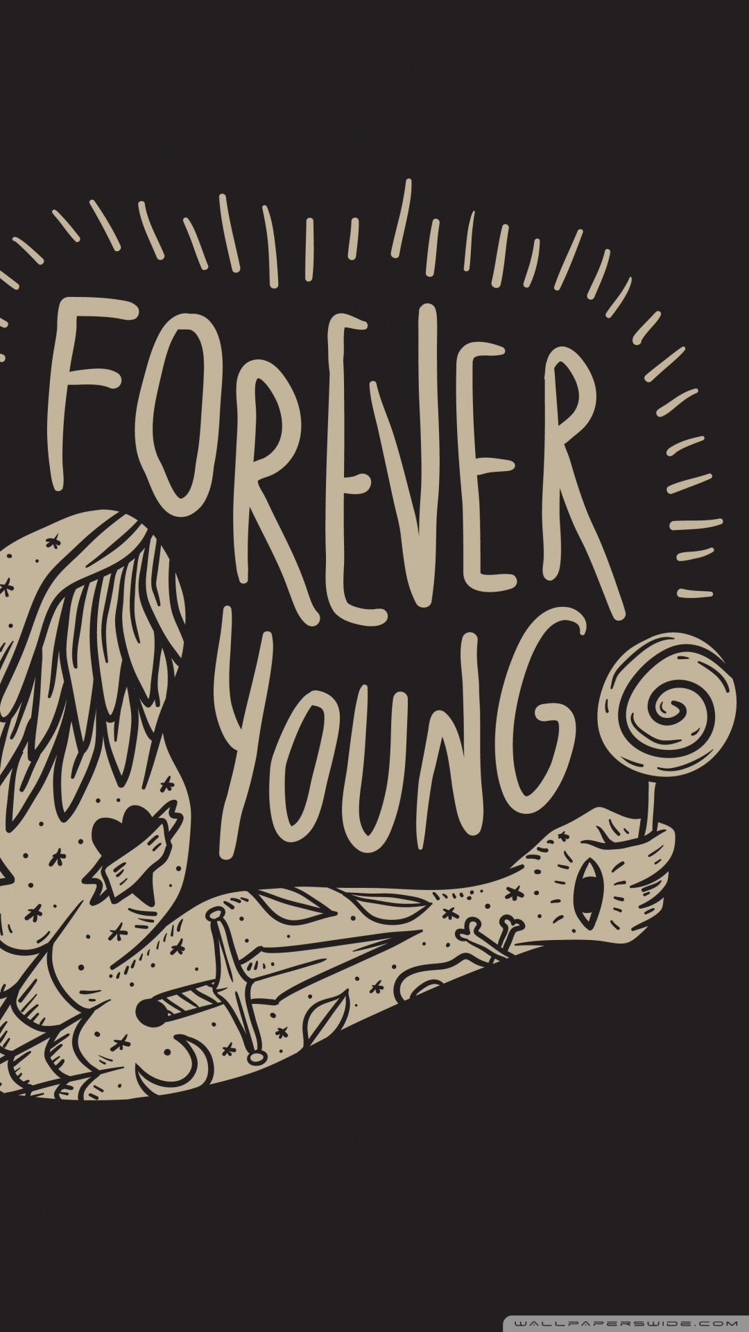 Free Forever Young phone wallpaper by pookiebear112