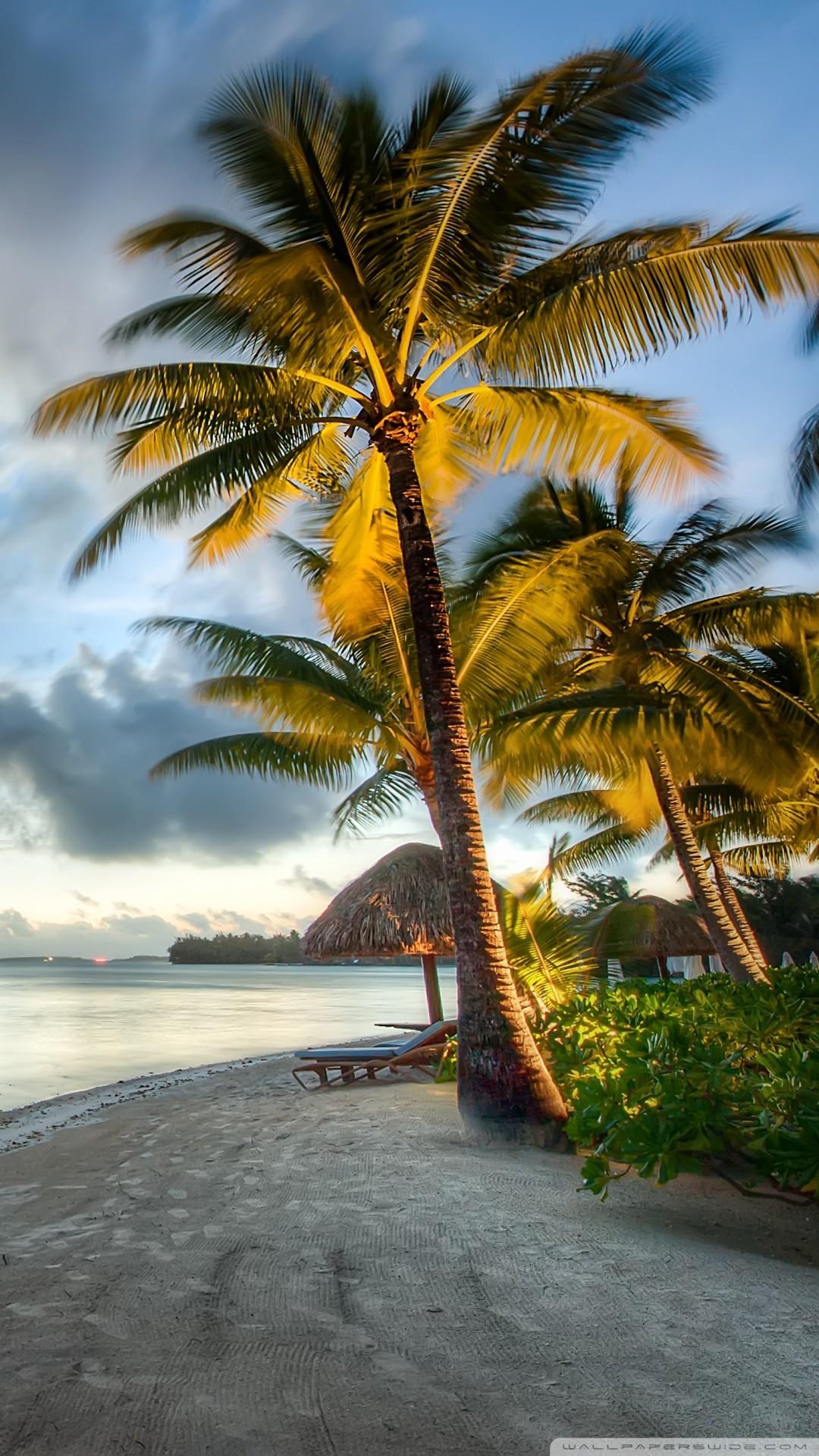 Free Bora Bora Beach, Clouds phone wallpaper by 80srock