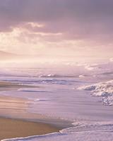 Ocean, Foam, Beach, Sand