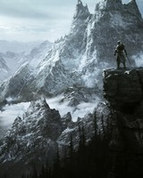 The Elder Scrolls V Skyrim Key Art