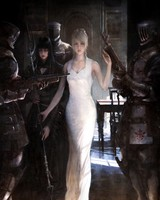 Final Fantasy XV, Luna, Concept Art Video Game