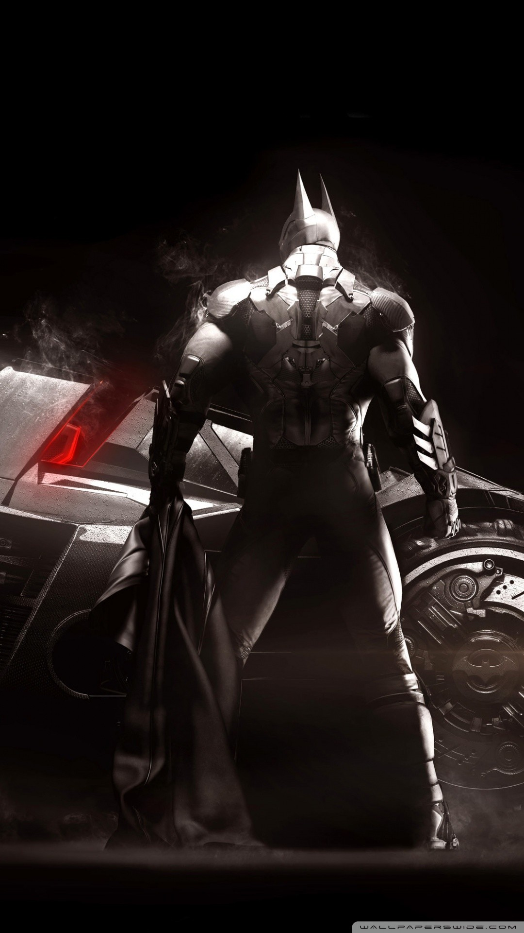 Free Batman Arkham Knight, Batmobile, Video Game phone wallpaper by dana111107