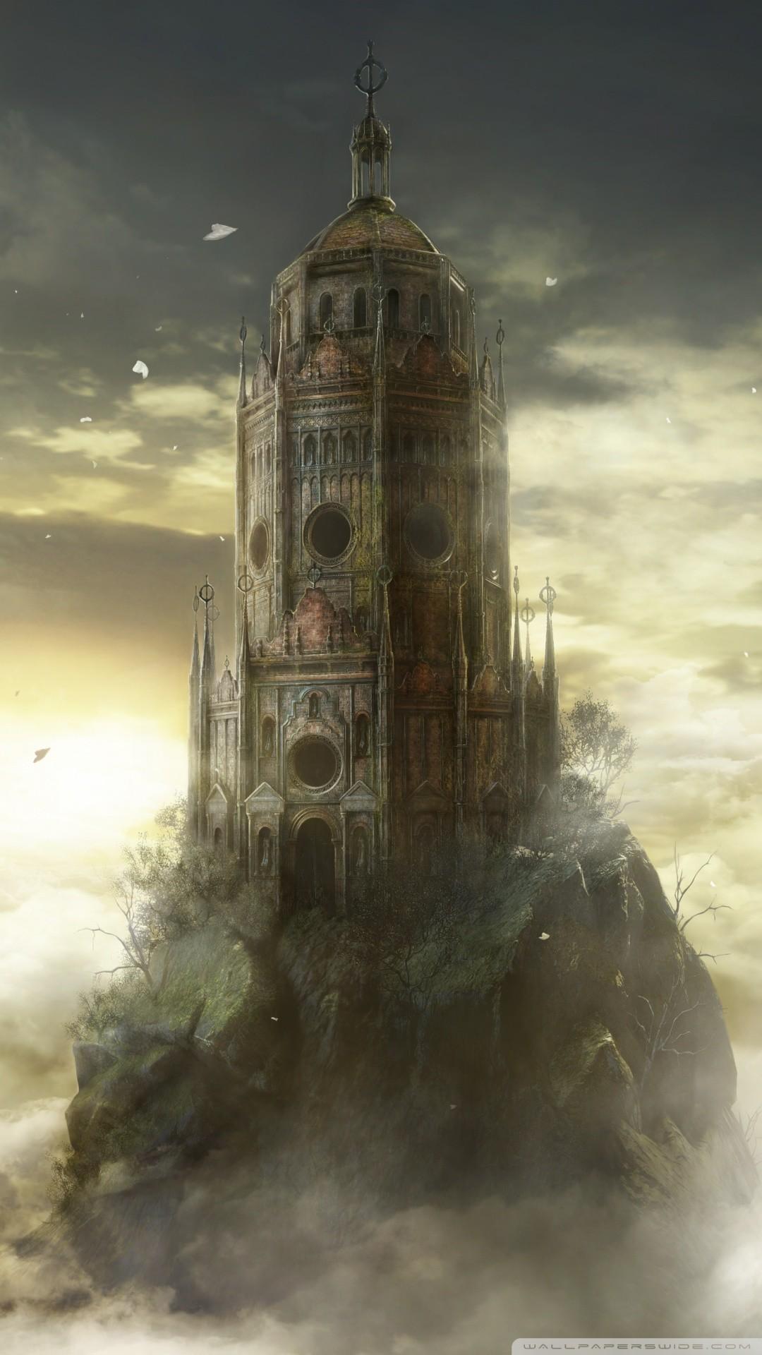 Free Dark Souls III The Ringed City DLC game phone wallpaper by zjason