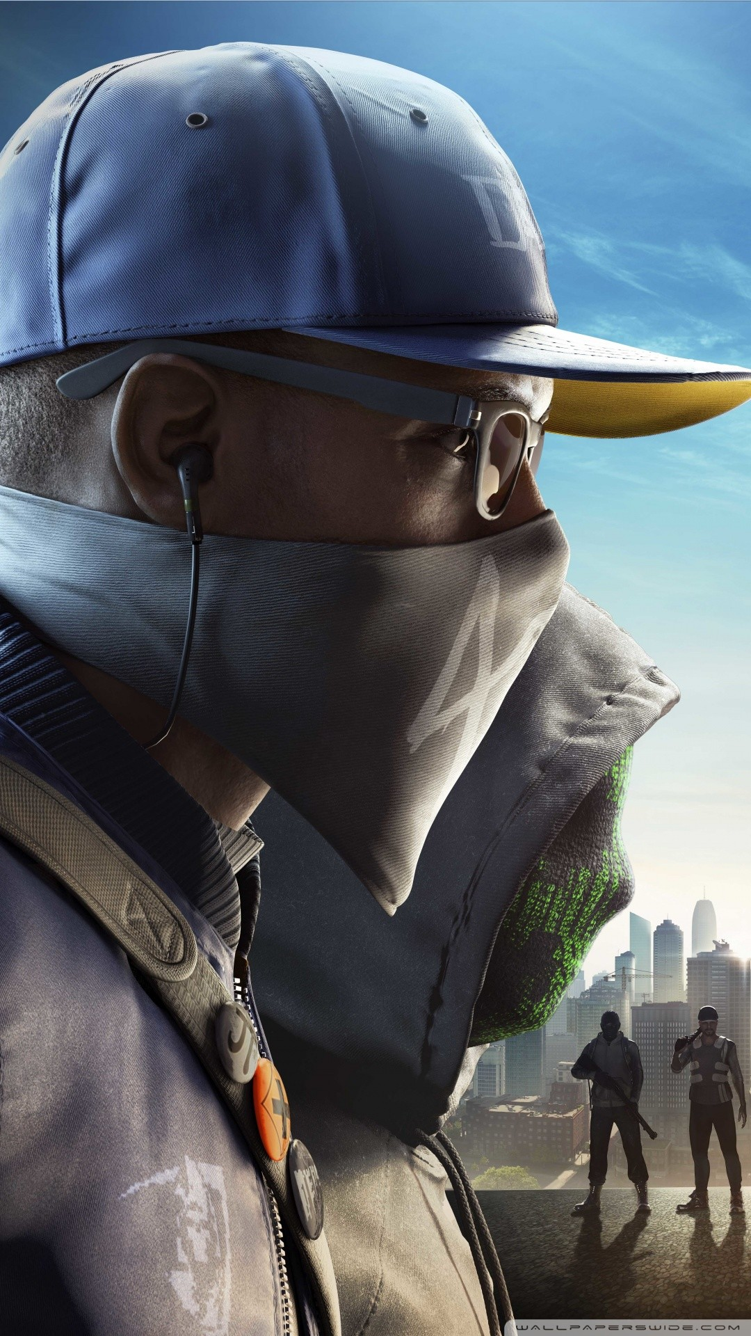 Free WATCH DOGS 2 No Compromise DLC Video Game phone wallpaper by mbolitas