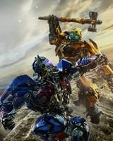 Bumblebee vs Optimus Prime Transformers The Last Knight